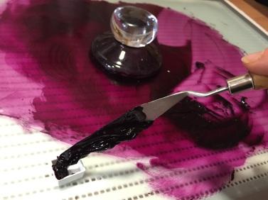 Making Cochineal Watercolour