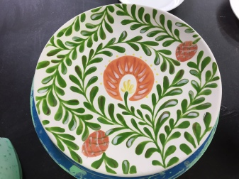 Lojjaboti design painted and fired
