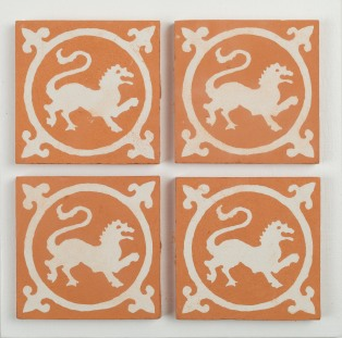 Handmade encaustic tiles